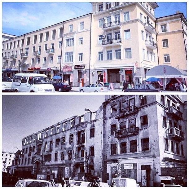 фото грозный до и после