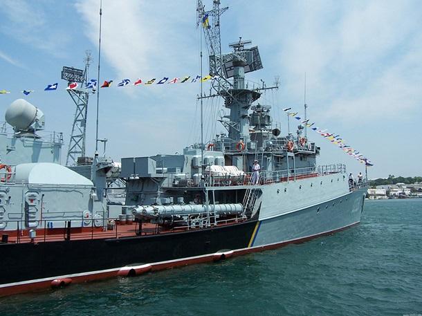 Украинский флот после анексии Крыма