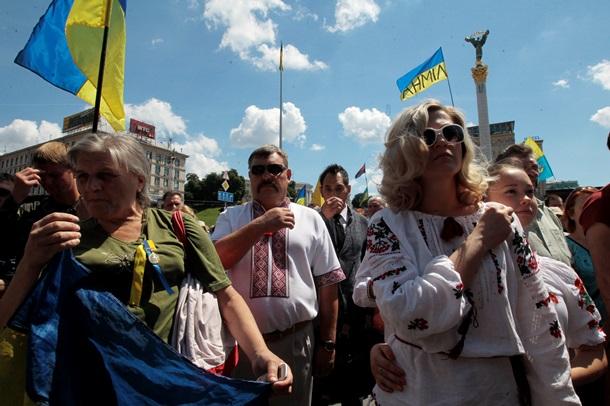 День Независимости 2014 в Киеве
