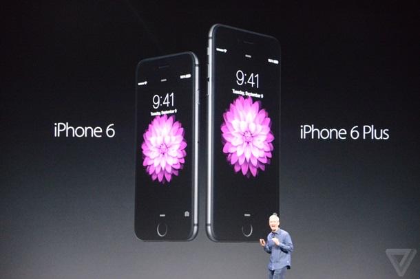 Презентация iPhone 6 онлайн-трансляция