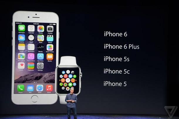 Apple iPhone 6 и iPhone 6 Plus