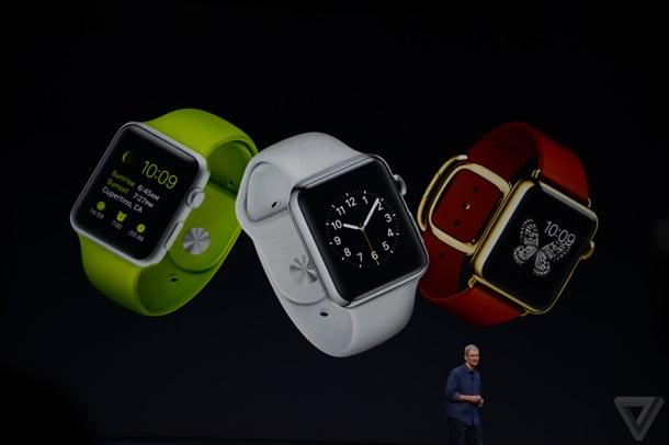 Презентация часов Apple Watch