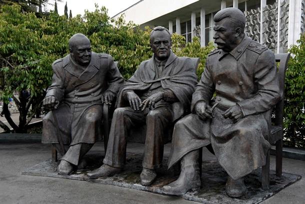 Памятник рузвельту в ялте цены на памятники в тамбовской орша