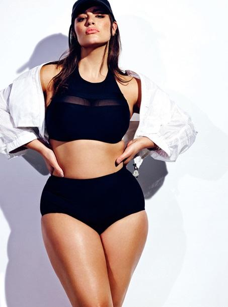 Plus-size модель Ешлі Грем знялася у новій фотосесії для ELLE -  Korrespondent.net 12fcd04729460