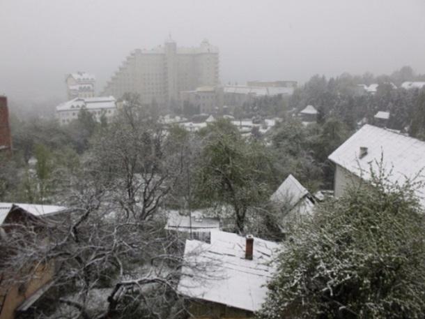 снігопад на Львівщині