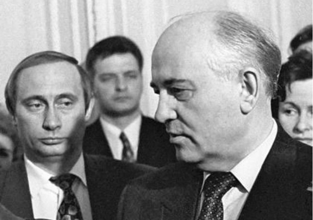 Картинки по запросу Путин и Горбачёв
