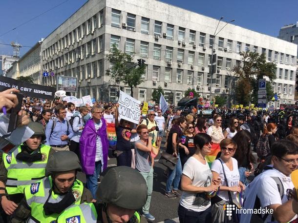 Марш гомосексуалов