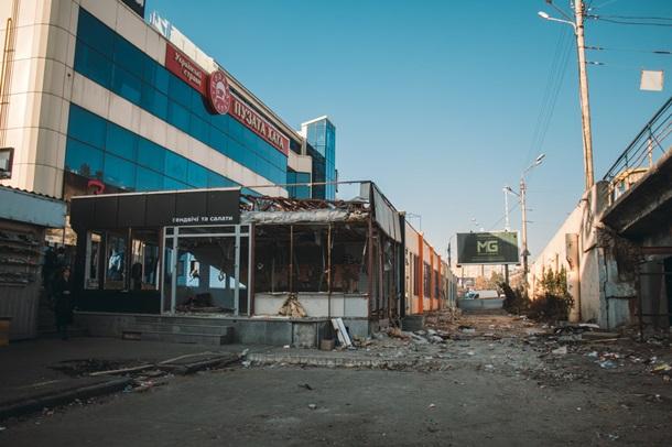 ВИДЕО На Шулявском путепроводе проводятся подготовительные работы для демонтажа моста - фото 3