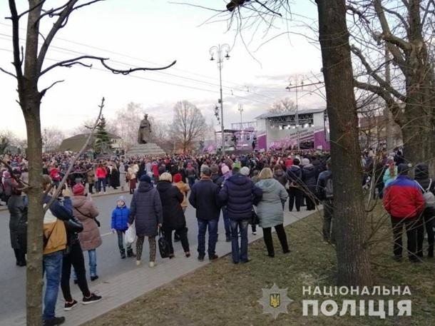 Протесты в Черкассах