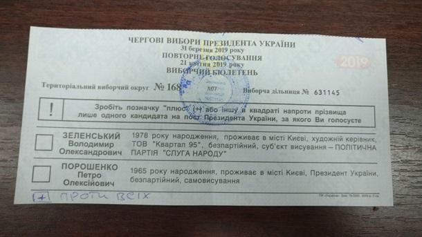 Непонятное коричневое вещество: как украинцы портили бюллетени