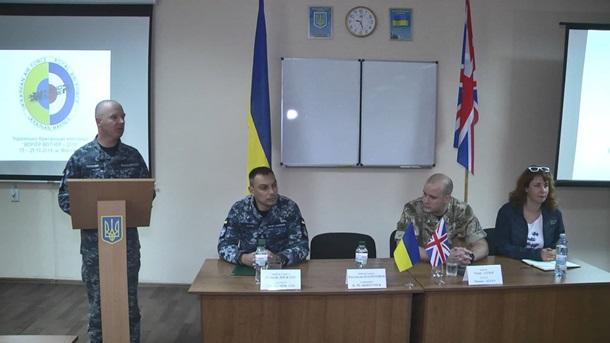 В Николаеве проходят первые украинско-британские учения