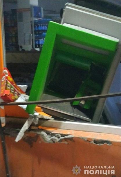 В Запорожье неизвестные подорвали банкомат