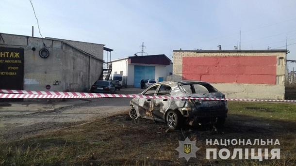 На Харьковщине мужчина заживо сгорел в своем авто