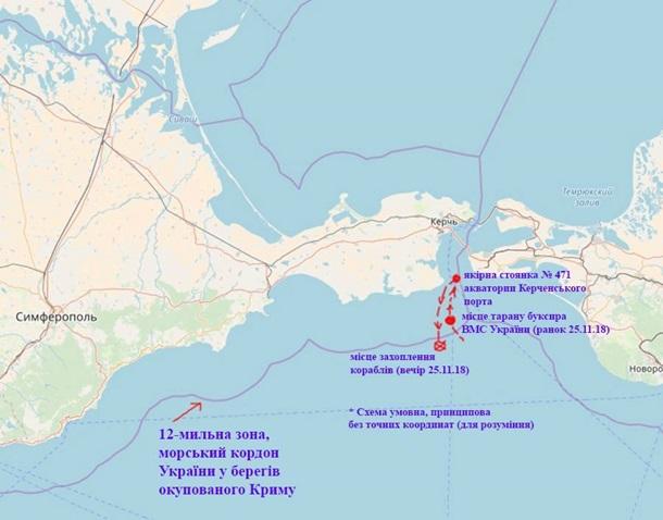Возвращение кораблей идет по плану - ВМС Украины
