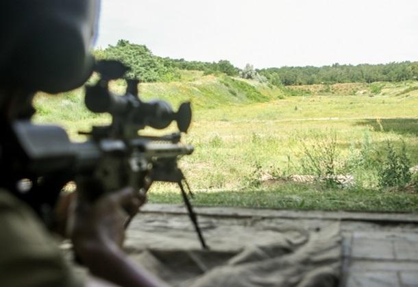 Курсанты академии Нацгвардии испытали новую снайперскую винтовку UAR-10 (ФОТО)