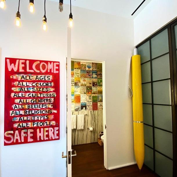 В сети высмеяли дизайн квартиры Джиджи Хадид. Фото
