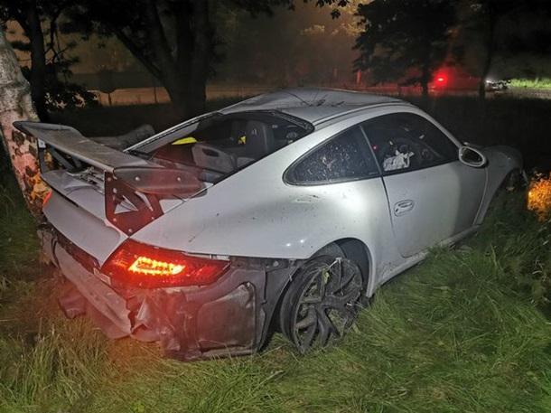 Подросток угнал Porsche за £82 тысячи и разбил его. ФОТО