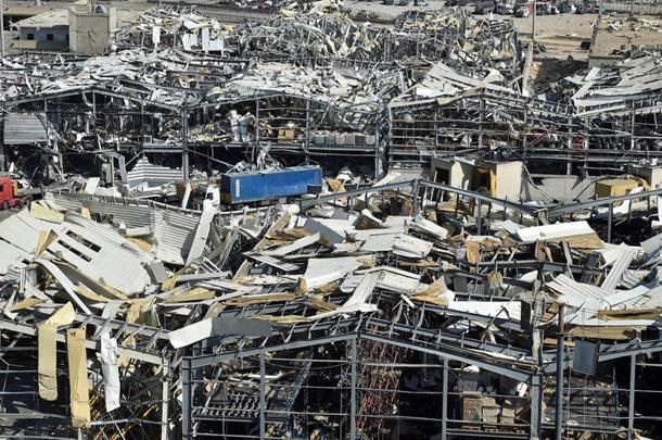Бейрут после взрыва. Фоторепортаж