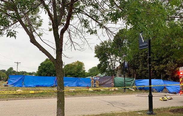 В США самолет упал на жилой дом - никто не выжил (ФОТО) 7