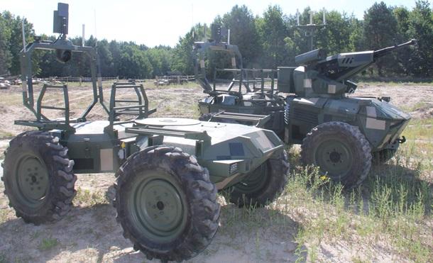 В Десне представили роботизированные платформы (ФОТО) 1