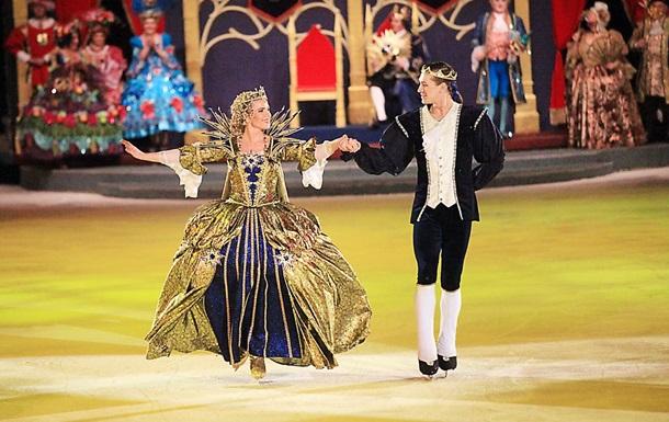 Сегодня в Киеве впервые покажут знаменитый мюзикл на льду Золушка
