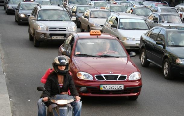 Ограничения движение автотранспорта на Проспекте победы в Киеве с 1 до 22 ноября