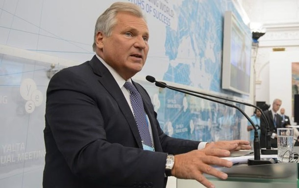 Все будет хорошо. Квасьневский оказался немногословен после визита к Тимошенко
