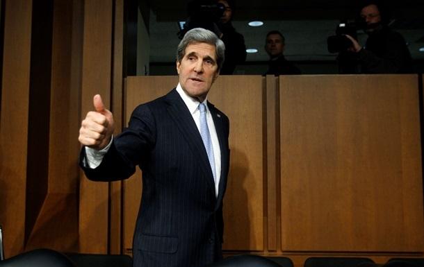 Госсекретарь - США - Керри - визит - декабрь - Госсекретарь США Джон Керри посетит Украину в декабре