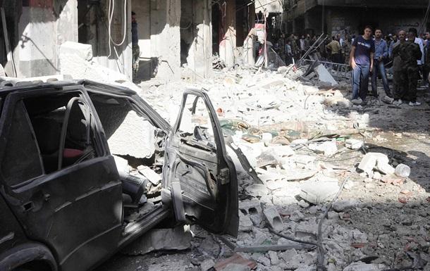 В Сирии при взрыве шесть человек погибли и почти 40 ранены
