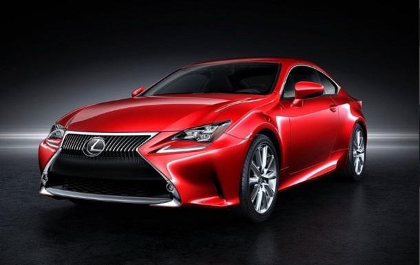 Lexus опубликовал первые фото нового спорткупе