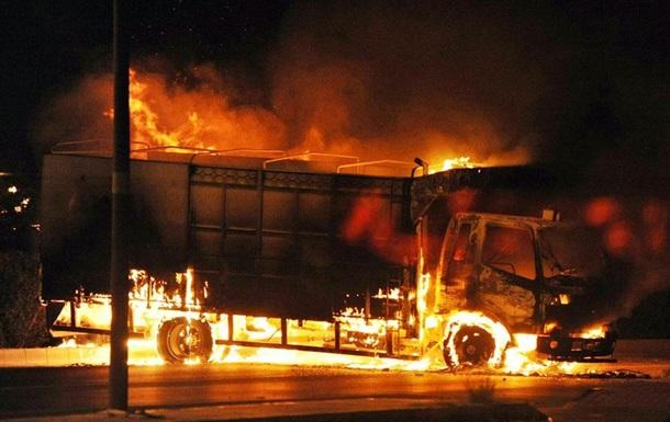 На Одесской трассе взорвалась фура, есть жертвы