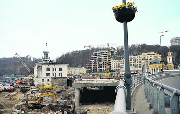 Открытие нового тоннеля на Почтовой площади в Киеве вновь откладывается