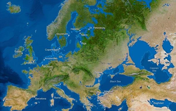 Крым станет островом. Эксперты National Geographic создали карту последствий глобального потепления