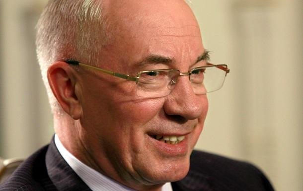 Украина не связывает подписание соглашения об ассоциации с необходимостью кредитования - Азаров