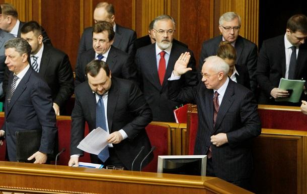 Азаров заговорил о кадровых изменениях в правительстве