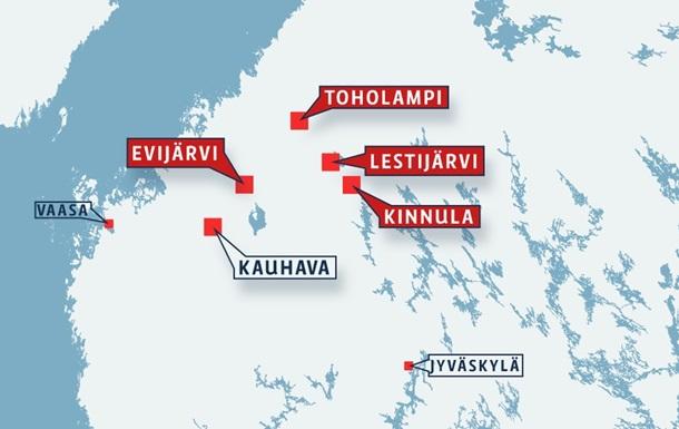 Два самолета ВВС Финляндии столкнулись в воздухе