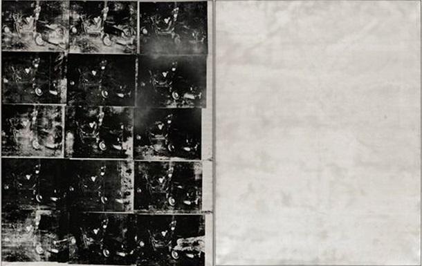Работа Энди Уорхола Авария серебряной машины ушла с молотка за 105 миллионов долларов