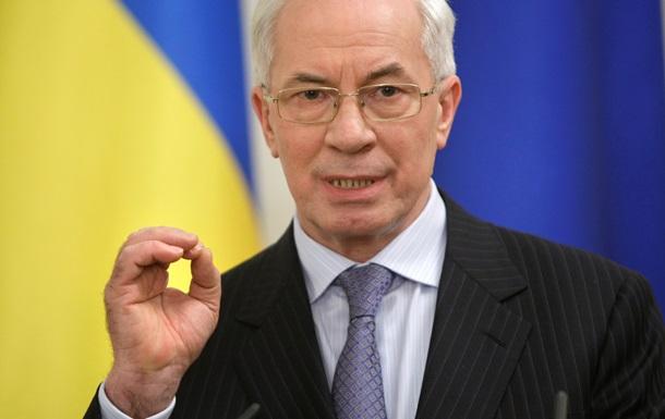 Азаров пообещал России бесперебойный транзит газа в Европу