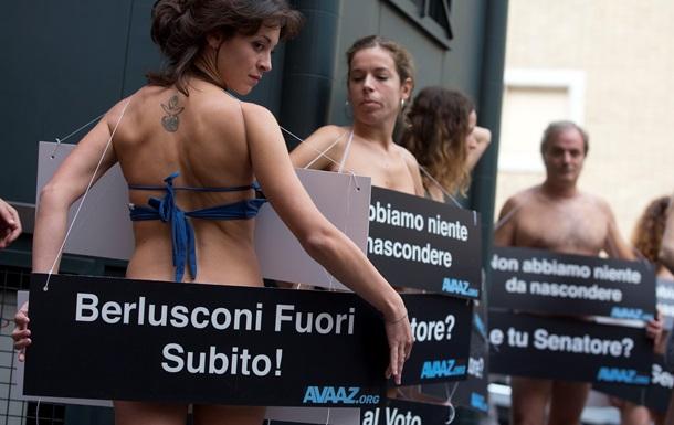 После выступления Берлускони на партийном съезде его увел врач