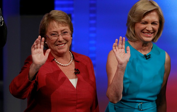 Во второй тур президентских выборов в Чили вышли две женщины