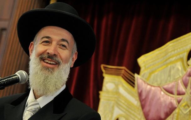 Бывший главный раввин Израиля арестован по подозрению в краже денег у благотворительных организаций