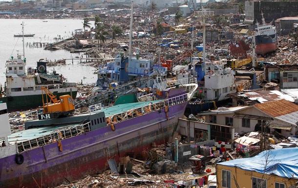 Украина выделит пострадавшим от супертайфуна Филиппинам 3,5 миллиона гривен
