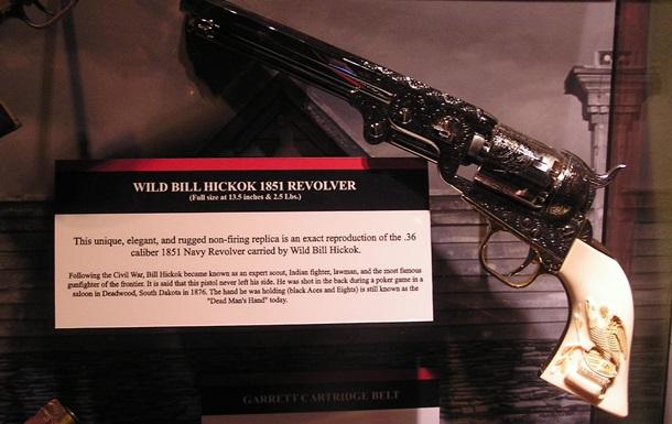Последний револьвер  Дикого Билла  не смог найти покупателя на аукционе в США