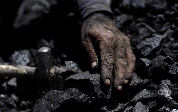 В Донецке шахтеры протестовали из-за полугодовой невыплаты жалованья