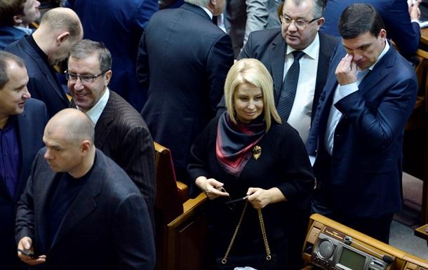 Заблокированная оппозицией Рада закрылась до пятницы