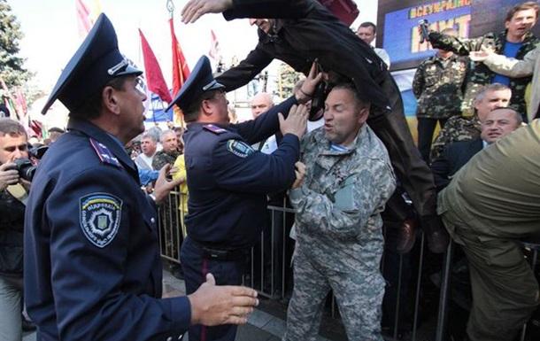 Почався відстріл активістів ветеранського руху.