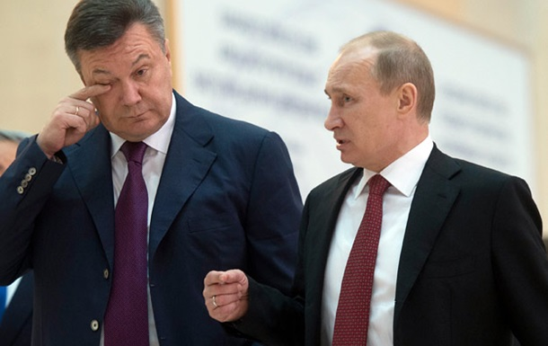 Торг здесь неуместен! Путин-Януковичу.