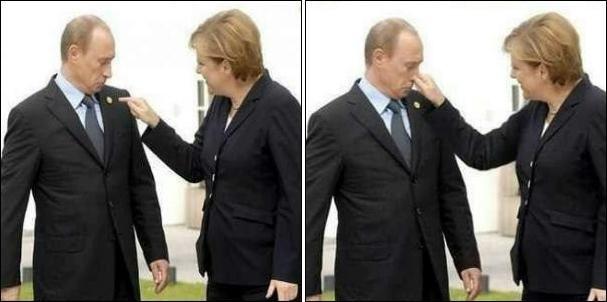 По-моему, Путин стресс уже не только заедает, но и запивает