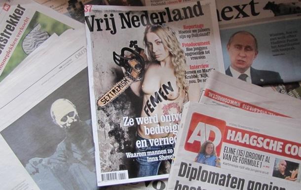 Визит Азарова в Голландию, не замеченный голландцами