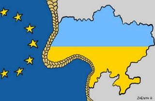 Ужгородські  За  і  Проти  членства України в Євросоюзі